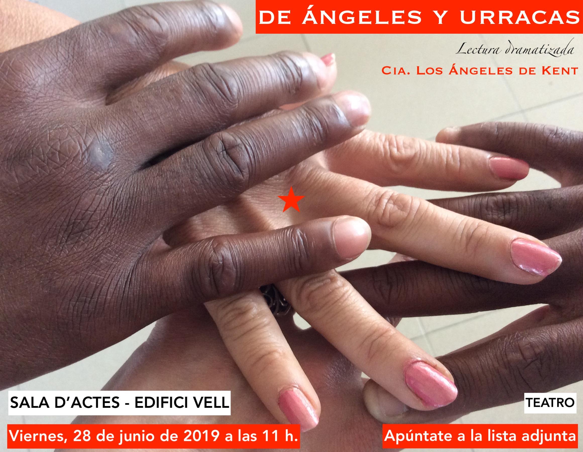 Cartell De Ángeles Y Urracas 2019